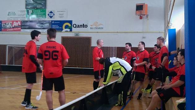 Florbalisté týmu Brankovice Black Arrows.
