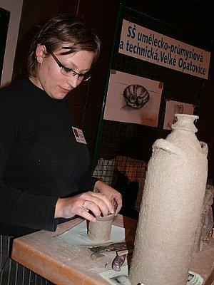 Ukázky keramické výroby