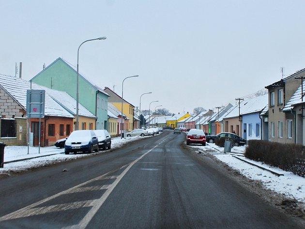 Kamery pohlídají i slavkovskou Špitálskou ulici.
