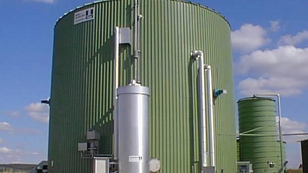 Bioplynová stanice - ilustrační foto.