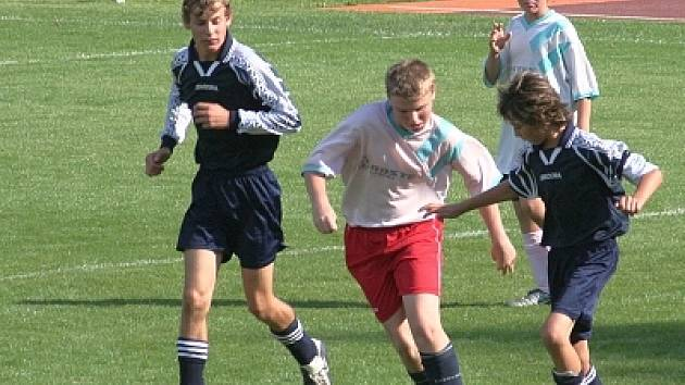 Sportovní veřejnost má možnost v právě odstartovaném soutěžním ročníku navštívit zápasy bohatého programu vyškovských mládežnických týmů. Snímek je z úspěšného vystoupení C družstva žáků.