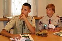 NÁVŠTĚVA Z POLSKA. Na Vyškovsko často zavítají cizinci z partnerských měst. V červenci 2006 to byli třeba skauti z polského Wyszkówa.