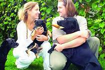 Alžběta Humlíčková s přítelem věnují útulku a jeho svěřencům prakticky veškerý volný čas.
