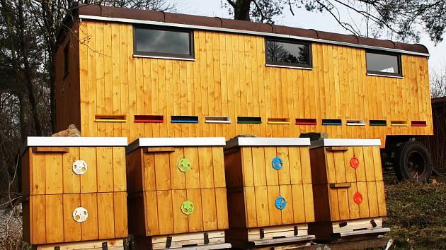 Vyškovský zoopark nabízí i možnost chovat své vlastní včely.