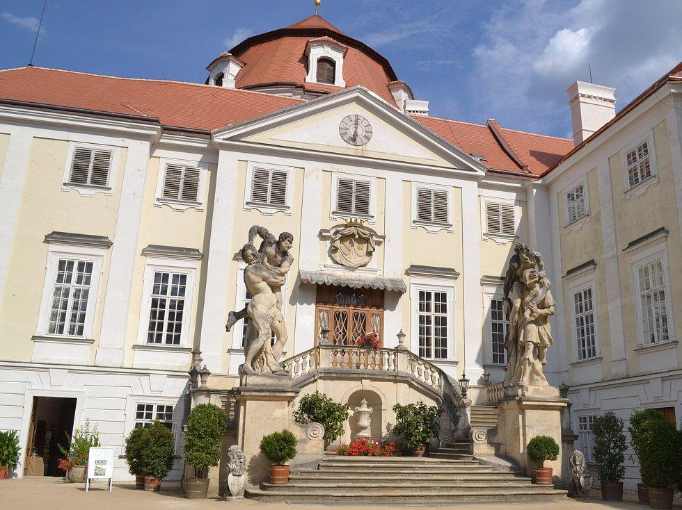 Zámek ve Vranově nad Dyjí.