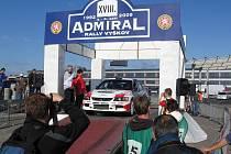 Admiral Rally ve Vyškově. Snímek z loňského ročníku.