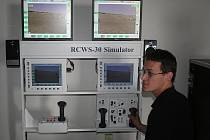 Virtuální vojenský simulátor.