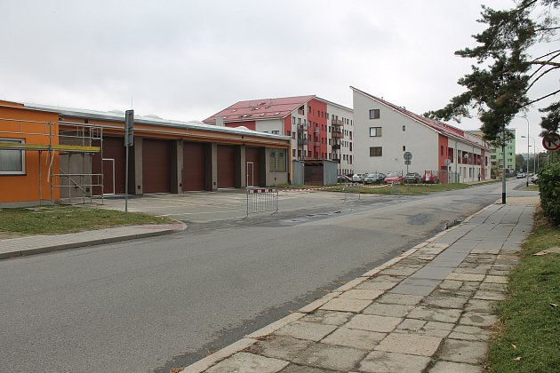 Vyškovské Smetanovo nábřeží čeká poslední etapa rekonstrukce.