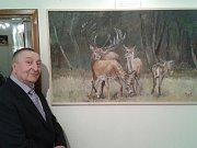 Ve Staré radnici v Rousínově svá díla představují malíř Václav Hlaváč a ornitolog Jiří Bartl.