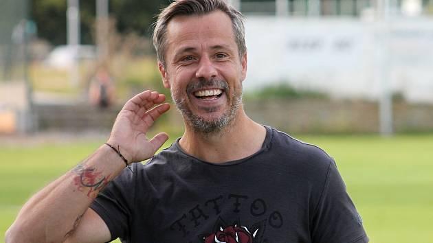 Roman Zavřel, trenér fotbalistů Tatranu Rousínov.