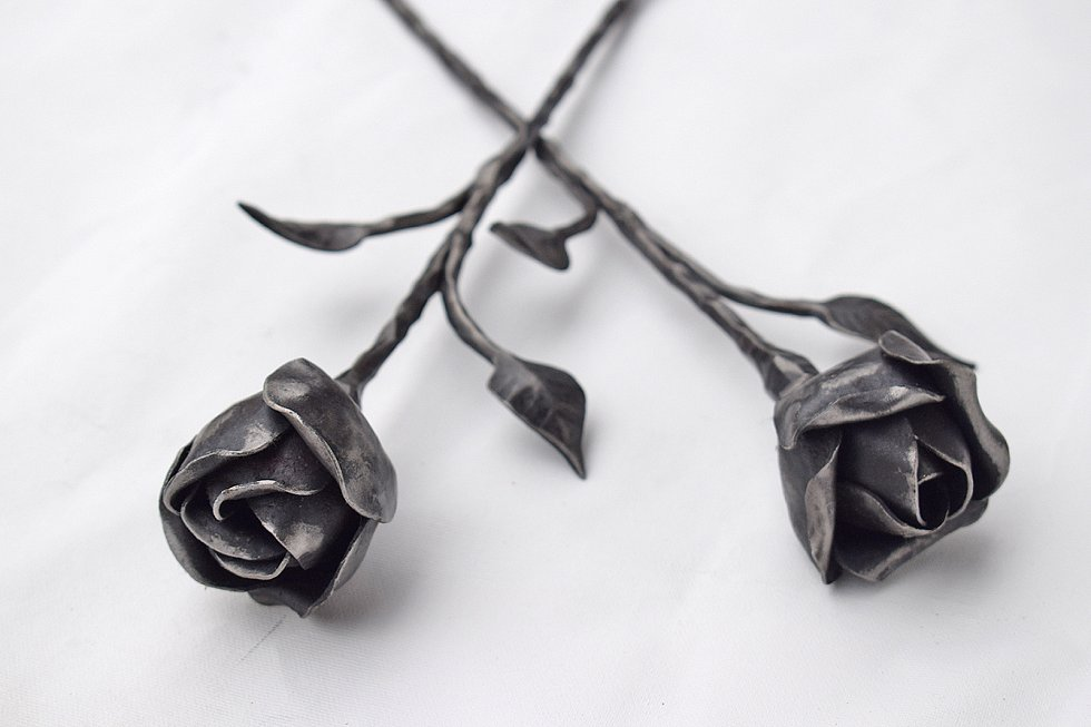 Kované růže.