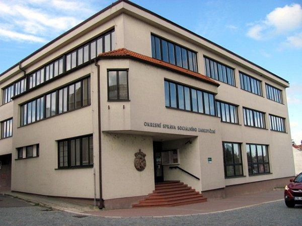 Budova Okresní správy sociálního zabezpečení na Masarykově náměstí, Vyškov