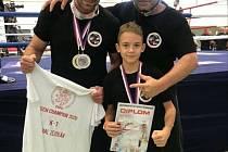 Republikovým šampionem v kickboxu se stal Michal Zezulka.