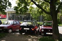 Parkování na sídlišti Dukelská ve Vyškově