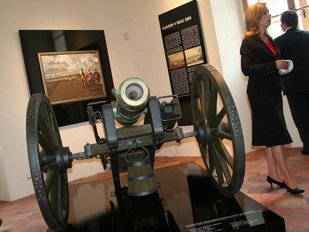 Napoleonská expozice na zámku ve Slavkově u Brna.