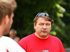 Trenér ragbistů RC JIMI Vyškov Pavel Pala.