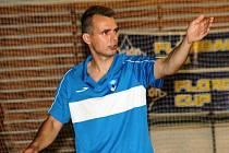Vladimír Štrublík, futsal, trenér týmu SK Amor Kloboučky Vyškov hrajícího II. ligu.