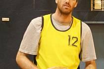 Vyškovský basketbalista Ivo Höger.