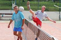 Tradiční nohejbalový turnaj pro neregistrované hráče uspořádal Sokol Orlovice.