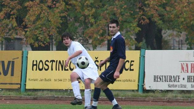 Dvanácté kolo Fortuna ligy přineslo nejméně branek v historii soutěže. Zasloužil se o to i tento zápas Slavkova s Tvrdonicemi, v němž se neradoval z trefy ani jeden tým.