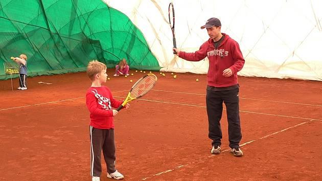 Mým cílem je vychovat tenisty prvoligové úrovně: Martin Žemla