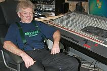 Zakladatel vyškovského nahrávacího studia, hudebník Bořivoj Monath.