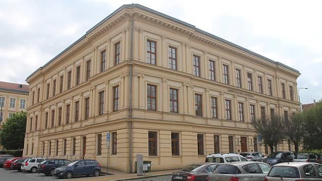 Knihovna Karla Dvořáčka ve Vyškově.
