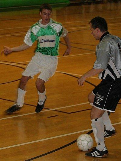 Již za pár hodin se jediné dva divizní futsalové týmy Vyškovska utkají mezi sebou. Poslední vzájemný duel (na snímku) pro sebe získal současný Amor Vyškov, dříve Sport Drnovice.