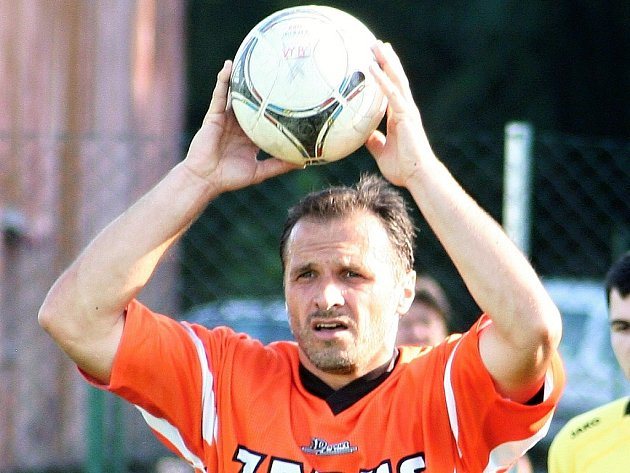 Předseda pustiměřského fotbalového klubu Pavel Holub na archivním snímku.