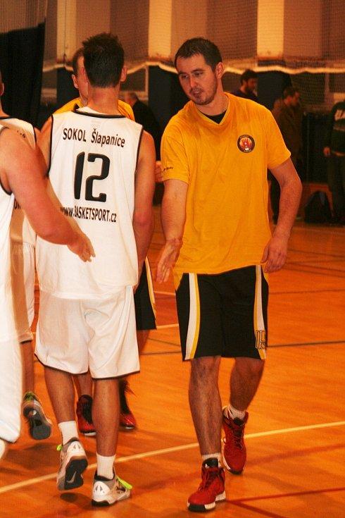 V utkání oblastního přeboru II. třídy basketbalistů porazil domácí BK Vyškov družstvo Sokola Šlapanice B 73:61.