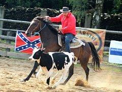 Areál bohdalického Ovčína zažil rodeo už podruhé. Bylo součástí mistrovství republiky ve westernových disciplínách.
