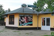 Sport Games Bar v Rousínově.