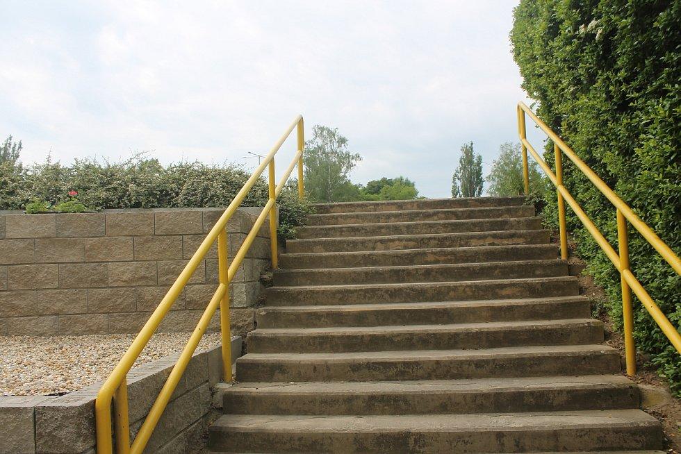 Venkovní areál je přístupný poprvé od rekonstrukce.