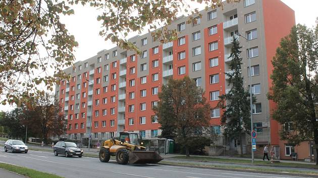 Vytopené byty v Dukelské ulici ve Vyškově.