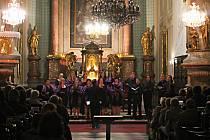 Svatováclavský koncert nabídl zpěv, hudbu i tanec.