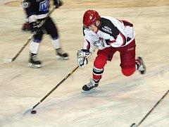 Na zimním stadionu ve Vyškově si to rozdaly juniorské týmy LHK Jestřábi Prostějov a AZ Havířov.