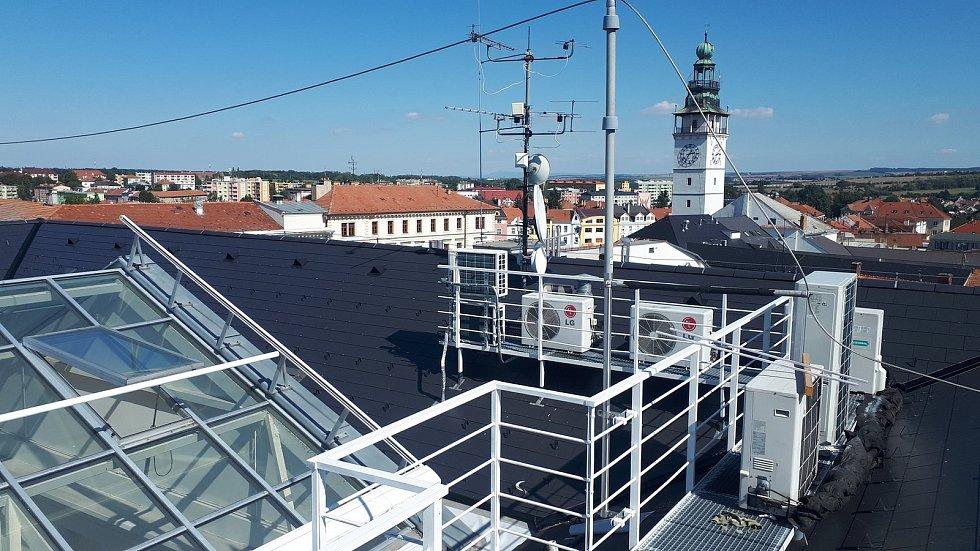 Ve vyškovské knihovně zmodernizovali datové sítě a infrastrukturu pro využití informačního systému.