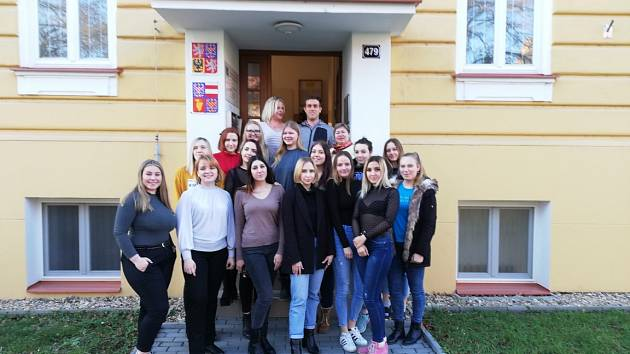 Do Slavkova u Brna přiletěla návštěva z Nižnijho Novgorodu.