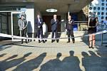 Otevření pavilonu se zúčastnil také hejtman Bohumil Šimek.