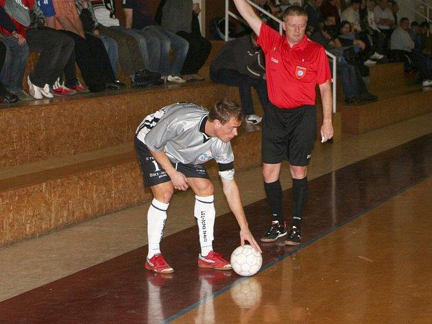 Futsalisté Pivovaru Vyškov si odvezli z Brna všechny tři body.