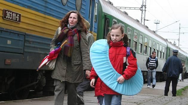 Vlakové nádraží ve Vyškově