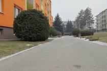Na sídlišti Zlatá hora ve Slavkově u Brna nechá město postavit nové parkoviště