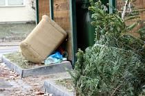 Vyhozené vánoční stromky se zatím u kontejnerů objevují po jednotlivých kusech. Po víkendu se jich však lidé z Vyškovska začnou zbavovat hromadně. Pracovníci technických služeb a popeláři se připravují na největší nápor v roce.