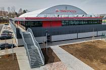 Na zimním stadionu ve Vyškově trénovali české hokejové reprezentace do dvaceti a osmnácti let.