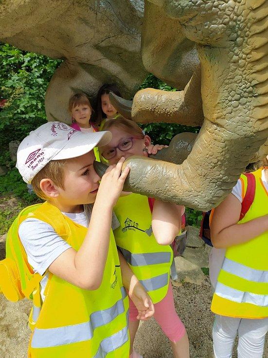 Prázdninový turnus příměstského tábora byl od 20. července věnovaný zvířatům.