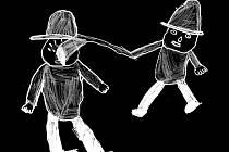 Staré pověsti z Drahanské vrchoviny ilustrovali žáci Základních škol Drnovice, Nemojany, Podomí a Mateřské školy Drnovice. Obrázek se vztahuje k příběhu Rychtářský souboj.