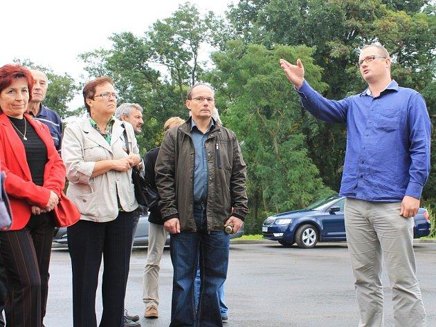 Vyškovskou biplynovou stanici v pondělí dopoledne čekalo slavnostní otevření.