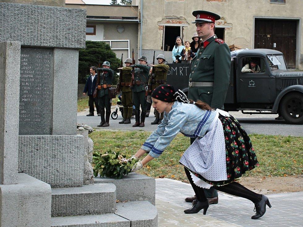 V Rychtářově si připomněli 70. výročí návratu obyvatel 33 obcí Drahanské vrchoviny, kteří byli za druhé světové války vystěhovaní.