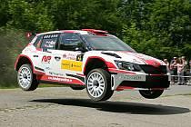 Sedmadvacátý ročník automobilové Rally Vyškov vyhrál Jaromír Tarabus s vozem Škoda Fabia R5.