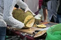 První říjnovou sobotu voněl Vyškov africkýmj trhy.